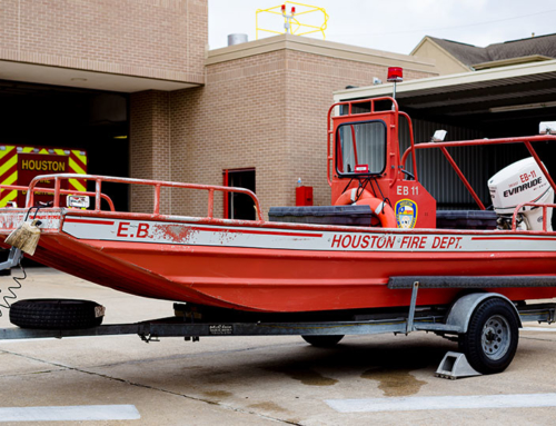 HFD Introduces Newly Donated Rescue Boat, With Live Training